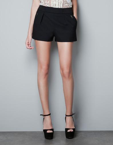 Fantastyczny Zakupy w Zara – szorty i czółenka   SU41